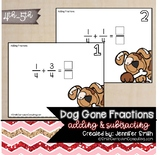 Dog Gone Fun Fraction Flip (Addition and Subtraction of Fractions)