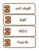 Dog Gone Fun Fractions - Word Wall Freebie
