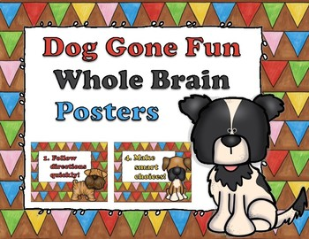 Dog Gone Fun Whole Brain Posters