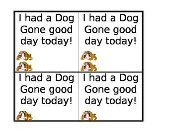 Dog Gone Good Day!