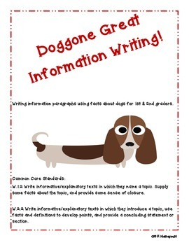 Doggone Great Information Writing!