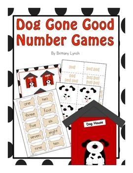 Number File Folder Games
