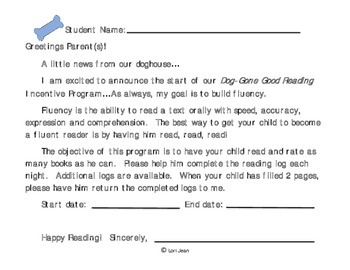 Dog-Gone Good Reading { Reader Log & Certificate}