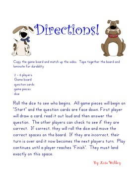 Dog Gone It! Adding and Subtracting Decimals Game