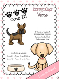 Dog Gone It - Evidence Based Irregular Verb Activities (Mu