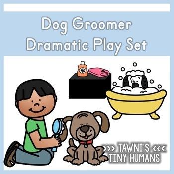 Dog Grooming Dramatic Play Set