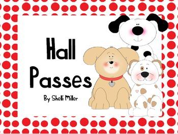 Dog Hall Passes