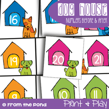 Dog House - Sequencing Numerals before / After Game Center