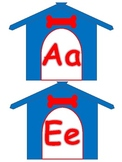 Dog House Word Wall Primary Colors