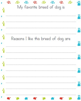 Dog Learning Pack (Middle School)