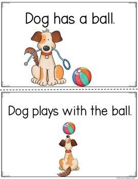 Dog Loses His Ball Early Reader