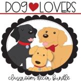 Dog Lovers Classroom Decor Bundle