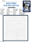 Dog Man Book 4 Dog Man and Cat Kid Word Search