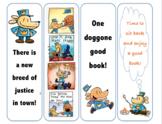 Dog Man Bookmarks