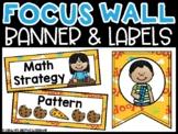 Dog Math Focus Wall and Banner