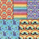 Dog Memorial Backgrounds - 10 Handmade Printable Rainbow Bridge Pet Patterns