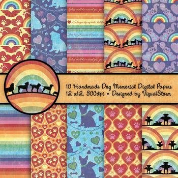 graphic regarding Rainbow Bridge Printable known as Pet Memorial Backgrounds - 10 Homemade Printable Rainbow Bridge Pet dog Styles