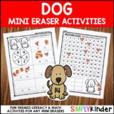 Dog Mini Eraser Activities