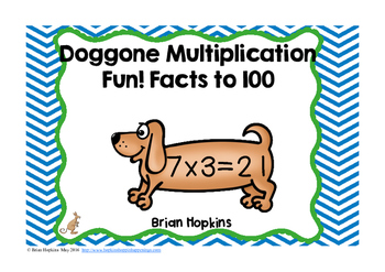 Dog Multiplication Facts to 10