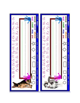 Dog Name Plates: Set #2