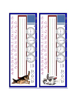 Dog Name Plates: Set #3