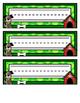 Dog Name Tags - Green Style - Printable Name Tags