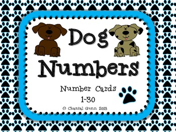 Dog Numbers 1-30