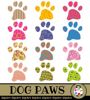 Dog Paw Clip Art