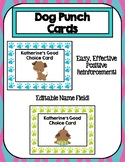 Dog Punch Cards