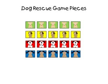 Dog Rescue - Reading Wonders High Frequency Word Games for Kindergarten