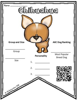 Dog Research QR Codes!