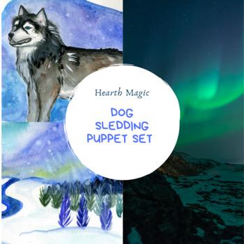 Dog Sledding Puppet/Graphics set- Iditarod