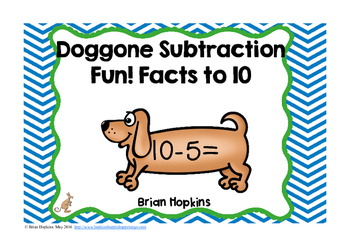 Dog Subtraction Facts to 10