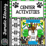 Dog Tales-Literacy Center Story Reading, Writing, and Sequencing Activities