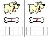 Dog Ten Frame 1 to 20