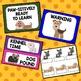 Dog Theme Behavior Chart
