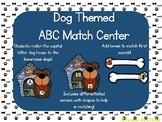 Dog Theme ABC and Beginning Sounds Match