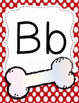Dog Theme Alphabet Posters