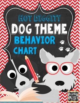Dog Theme Behavior Chart System *editable*