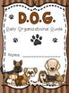 Dog Theme Binder Covers