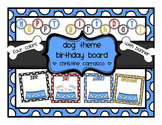 Dog Theme Birthday Board
