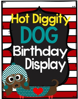Dog Theme Birthday Display