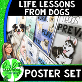 Dog Themed Classroom Decorations | Classroom Posters with Writing Prompts