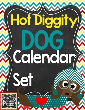 Dog Theme Calander Set
