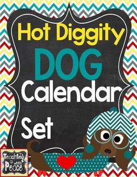 Dog Theme Calander Set