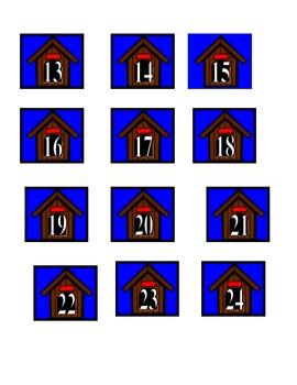 Dog Theme Calendar Numbers