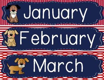 Dog Theme Calendar Pack