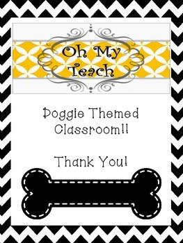 Dog Theme Classroom