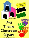 Dog Theme Classroom Clipart for Personal and Commercial Use