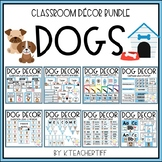 Dog Theme Classroom Decor Bundle